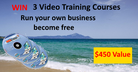 Win 3 Video Training Courses To Help Start Your Own Business - FreedomAston