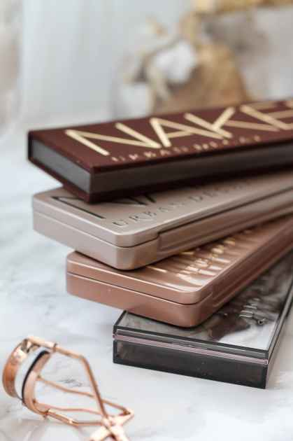 Urban Decay Naked Palette Giveaway - De Nouveau Review & Rose Gold Lining
