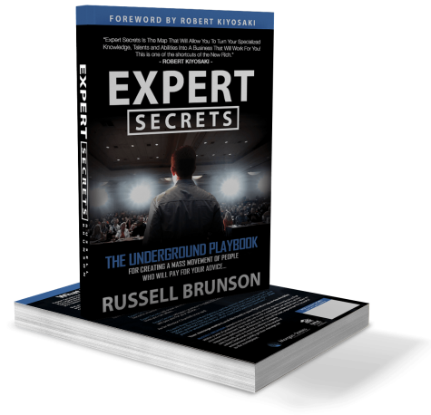 Win a copy of Expert Secrets by Russell Brunson - Paul Okeeffe