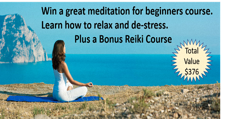 Meditation Course for beginners + bonus Reike Course Giveaway - Philip Perrin