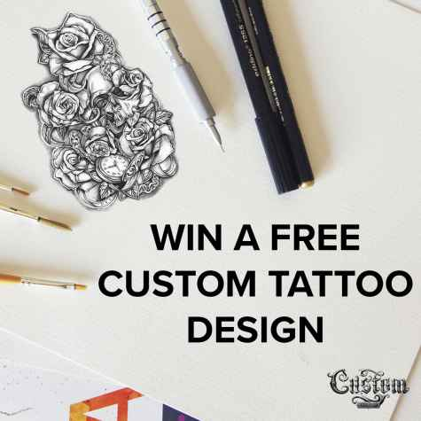 Win a FREE Custom Tattoo Design $300 Value - Custom Tattoo Design