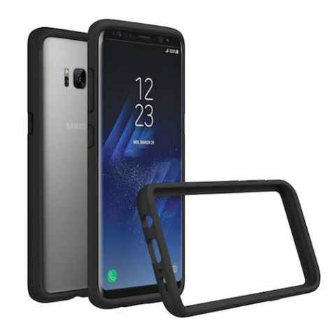 Win Samsung Galaxy S8 Plus smartphone with case - AndroidAuthority