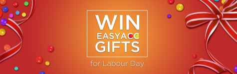 Win EasyAcc Gifts For Labour Day - EasyAcc