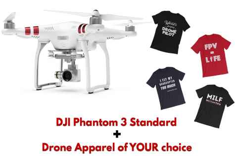 Win DJI Phantom 3 Standard quadcopter drone - DroneSupremacy