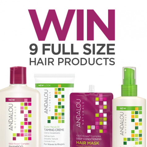 Win 9 Full Size Hair Care Products - Andalou Naturals