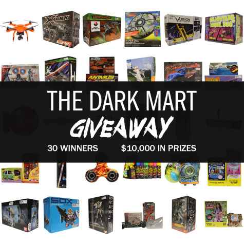 Over $10000 in prizes - The Dark Mart - The Dark Mart