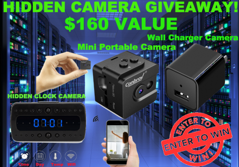 Hidden Camera Ultimate Bundle Giveaway! - Invisible Gear