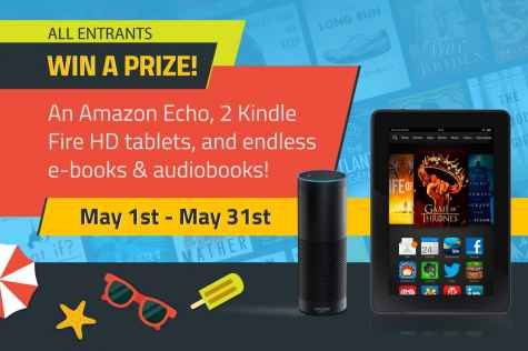 Kindle Echo + Kindle Fire HD + Audiobook & E-book Lot Giveaway - New Adult Noir(e)
