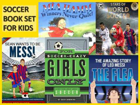 Wanna Win 5 kids soccer books? - Sean Wants To Be Messi