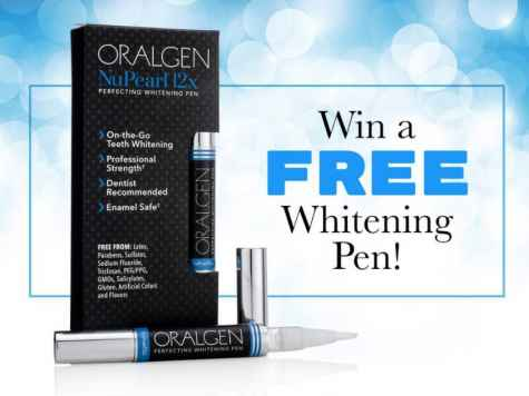 Oralgen - Teeth Whitening Pen Giveaway - Oralgen