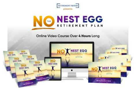 No Nest Egg #Retirement Income #Giveaway -  Retirement Rehab