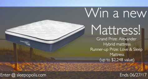 Nest Bedding Alexander Hybrid Mattress Giveaway - Sleepopolis