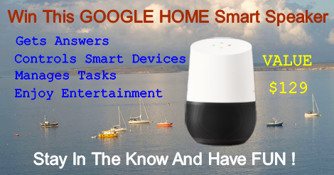 Win Google Home – the SMART Speaker 7/26 $129 WW - potofgoldnews.com