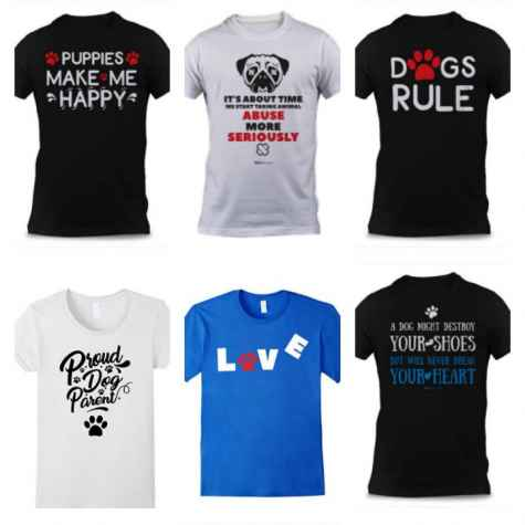 Dog Lovers T-Shirt Giveaway - Dogvills