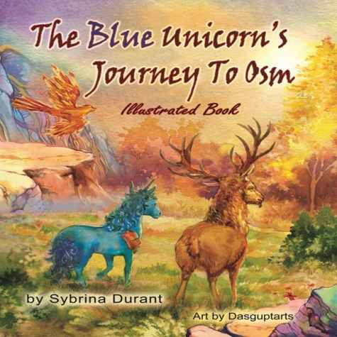 Autographed Copy of Illustrated Unicorn Book For Teens - Sybrina Publishing