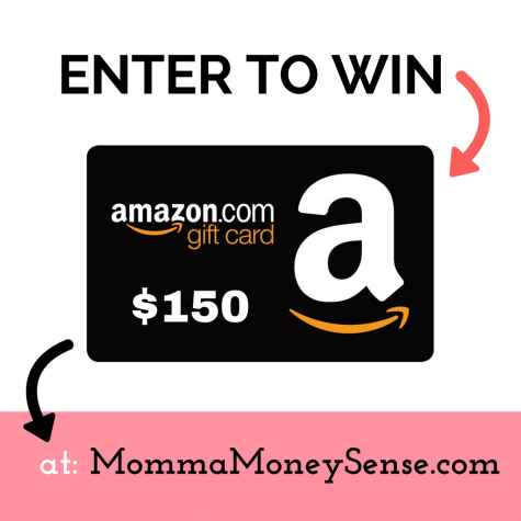 $150 Amazon Gift Card Giveaway - MommaMoneySense.com