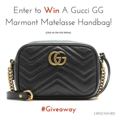 Enter to Win A Gucci GG Marmont Matelasse Handbag - Obsessory