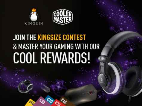 Win Cooler Master gaming headset mouse or 1 of 5x Kinguin Gift Cards - Kinguin
