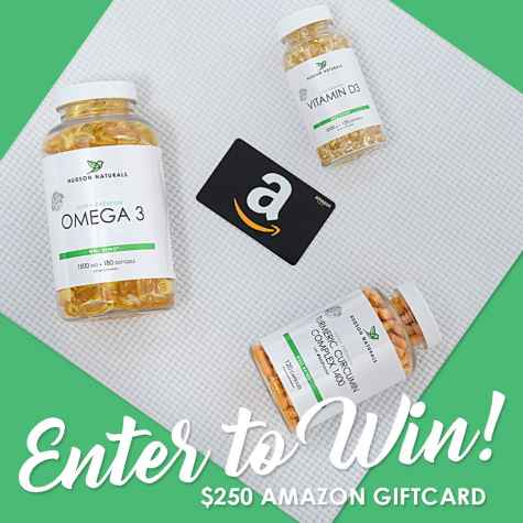 Win $250 Amazon Gift Card - Hudson Naturals
