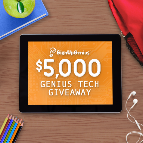 $5000 Genius Tech Giveaway - SignUpGenius