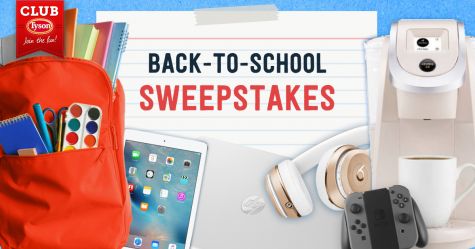 Club Tyson Back-to-School Sweepstakes - Club Tyson