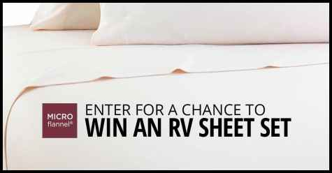 Enter for a chance to win a Micro Flannel RV Sheet Set - MicroFlannel.com