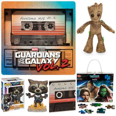 Guardians of the Galaxy 2 Prize Pack 08/26 - Guy & the Blog