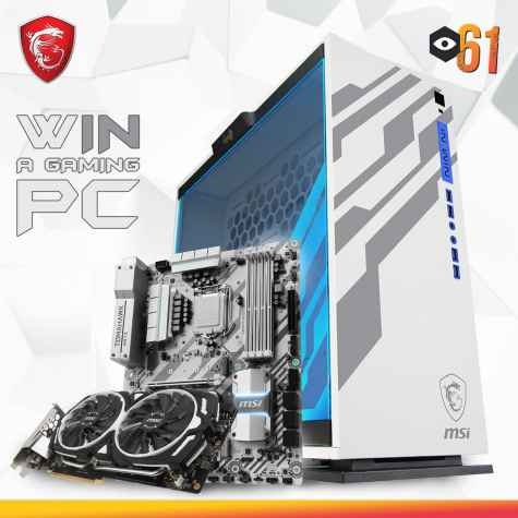 Win a LIMITED EDITION MSI Gaming PC - MSI