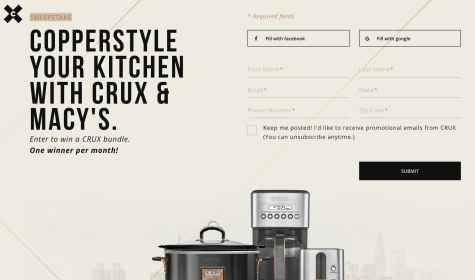 CRUX Kitchen Prize Bundle Giveaway - CRUX Kitchen
