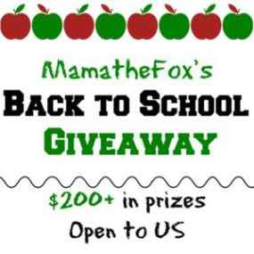 Back to School Giveaway - mamathefox