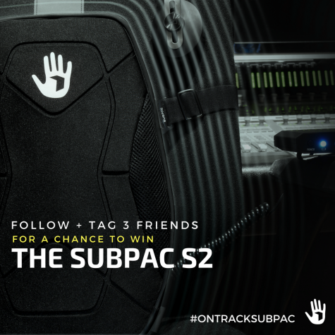 Subpac S2 Giveaway! SOLD OUT product for music listeners producers and mixing/mastering engineers! - Subpac