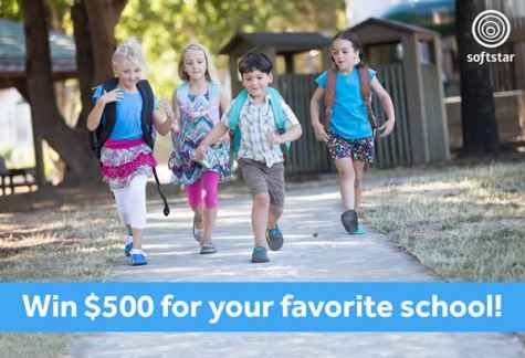 Back to School GIVEAWAY: Win $500 for Your School! - Softstar Shoes