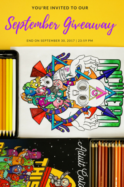 [Unibul Press] September 2017 Swear Word Adult Coloring Book Giveaway! - Uninbul Press