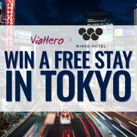 Win A Free Stay In Tokyo - ViaHero and Wired Hotel
