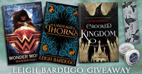 Leigh Bardugo YA Fantasy Books Giveaway - Author Megan Crewe