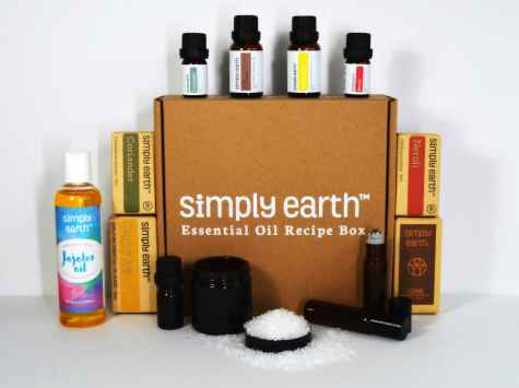 Win over $1000 Essential Oil Giveaway - Simply Earth