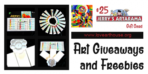 Artist Gift Set Pack Giveaway - lovearthouse