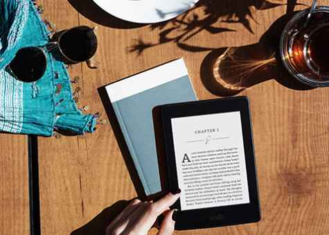 Chance to Win A Kindle Paperwhite - Monica Bentley