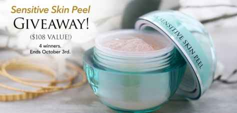 The 24K Sensitive Skin Peel Giveaway - OROGOLD Cosmetics