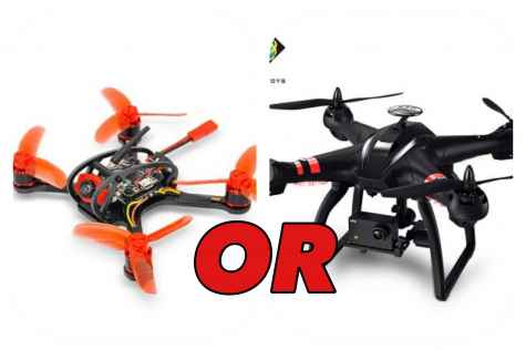 Win 1 of 2x quadcopter drones - DroneRacer101
