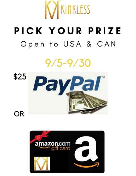 $25 Amazon eGift Card and Paypal Cash - Kinkless