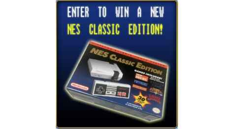 Win a NES Classic Edition Sweepstakes! - Sosa Games