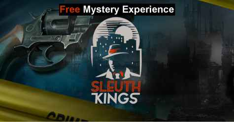 Sleuth Kings Case 001: The Guilty - Free Mystery Experience Giveaway - Sleuth Kings