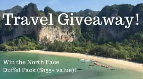 Win The Ultimate Travel Giveaway - Global Citizen Designs