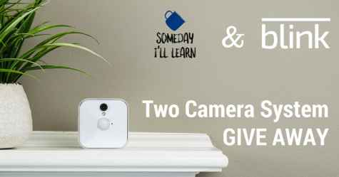 Two-camera BLINK Home Security System Giveaway - BLINK