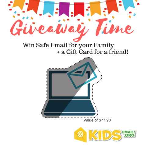 Win 1 Year Of KidsEmail PLUS A Gift Card For A Friend - Kids Email
