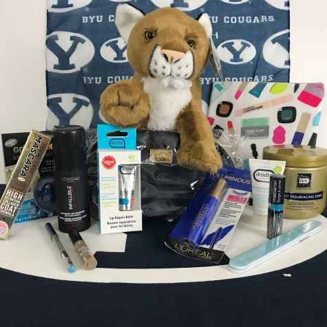 Enter to win a slew of makeup and beauty products plus some incredible BYU gear - De Nouveau Review
