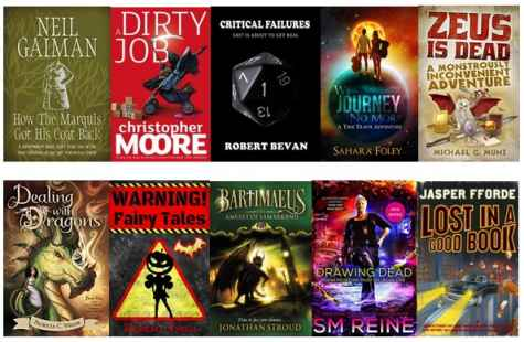 Win 10 Fantastic Comic Fantasy eBooks - Nicky Blue