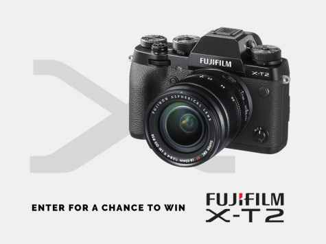 Win a Fujifilm X-T2 Mirrorless Camera with 18-55mm lens - Contrastly