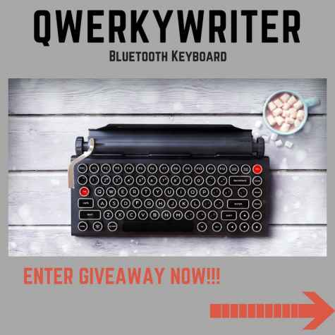 Qwerkywriter Vintage Wireless Keyboard Giveaway - Authorstech